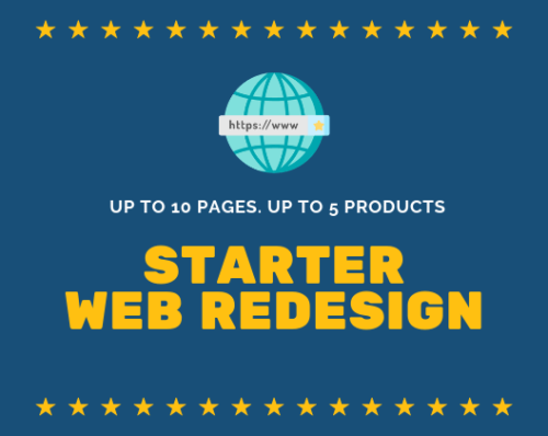 Starter Website Redesign Services